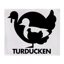 Turducken Throw Blanket