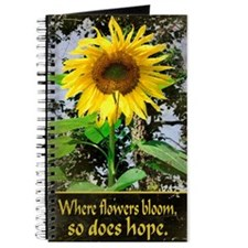 Where Flowers Bloom - Journal