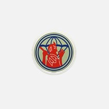 504th PIR REG (WWII) Mini Button