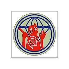"""504th PIR REG (WWII) Square Sticker 3"""" x 3"""""""