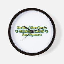 Like My Pyrenees Wall Clock