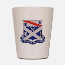 1st Bn 18th IR Shot Glass