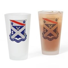 1st Bn 18th IR Drinking Glass