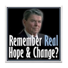 Reagan Hope Change Tile Coaster