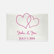 Custom Wedding Favor Magnets