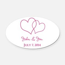 Wedding Car Magnets Personalized Wedding Magnetic Signs For Cars - Custom euro car magnets