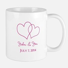 Custom Wedding Favor Mugs