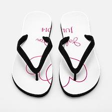 Custom Wedding Favor Flip Flops