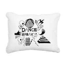 Dance Break Rectangular Canvas Pillow