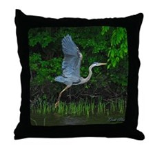 janurary Throw Pillow
