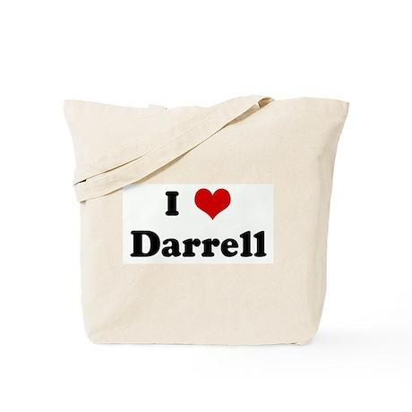 I Love Darrell Tote Bag