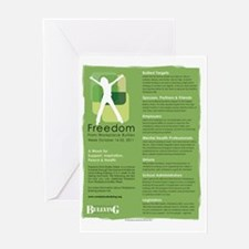 Freedom Week Poster 2011 Greeting Card