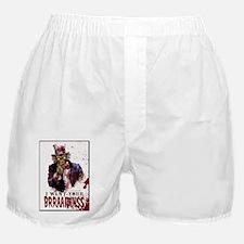 Zombie-Uncle-Sam Boxer Shorts