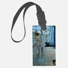 Dancer in Front of a Window by E Luggage Tag