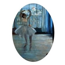 Dancer in Front of a Window by Edgar Oval Ornament