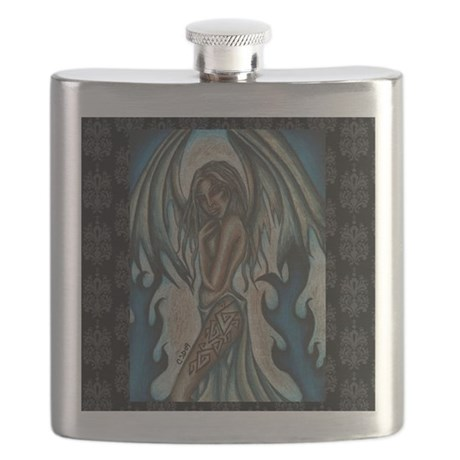 tempest of ice 11x11 200dpi Flask