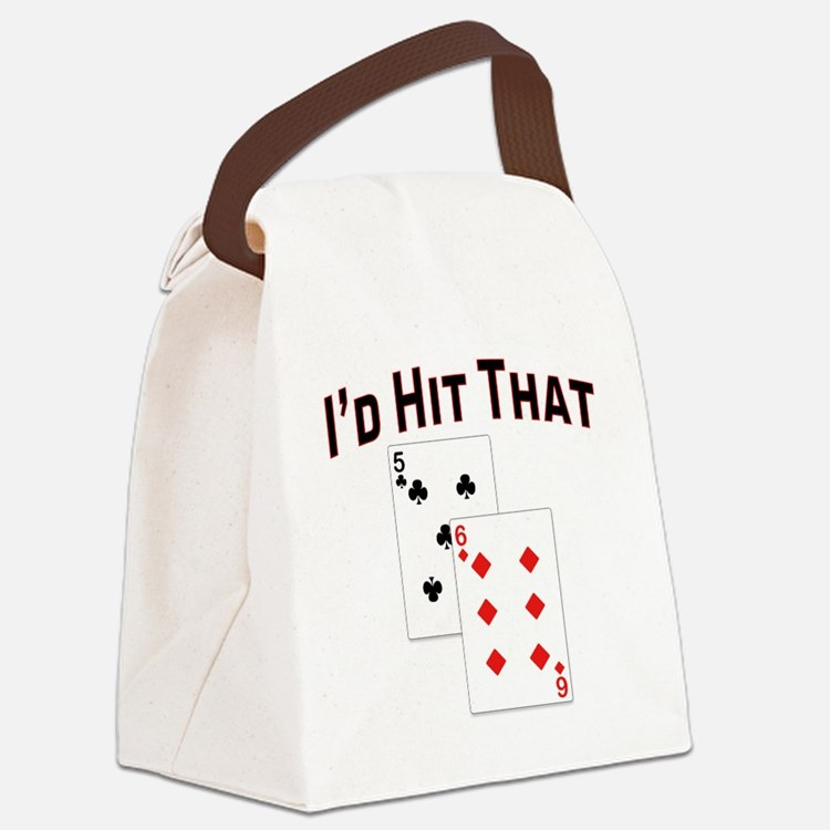 idhitthat Canvas Lunch Bag