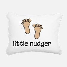 Nudge Rectangular Canvas Pillow
