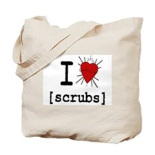 I Heart Scrubs Tote Bag