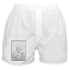 puppy pencil cell2 Boxer Shorts