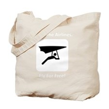 Glide Free White Tote Bag
