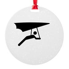Glide Free White Ornament