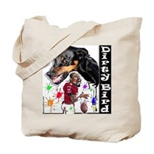 10 x 10 dirty birdy Tote Bag
