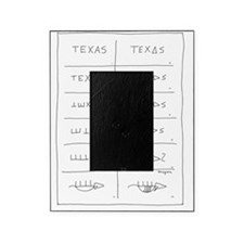 Texas Armadillo Picture Frame