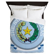 Texas Seal Queen Duvet
