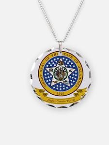 Oklahoma Seal Necklace