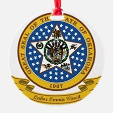 Oklahoma Seal Ornament