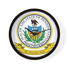 Pennsylvania Seal Wall Clock
