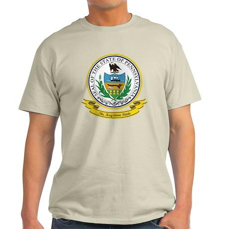 Pennsylvania Seal Light T-Shirt