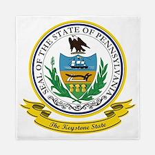 Pennsylvania Seal Queen Duvet