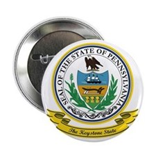 "Pennsylvania Seal 2.25"" Button"