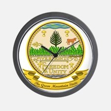 Vermont Seal Wall Clock