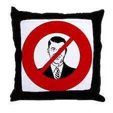 no-bosses Throw Pillow