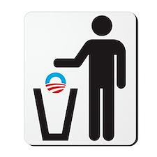 Dump Obama Mousepad