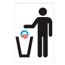 Dump Obama Postcards (Package of 8)
