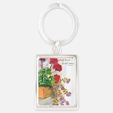 Flowerbox Portrait Keychain