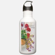 Flowerbox Sports Water Bottle