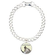 big bad wolf t-shirt Charm Bracelet, One Charm