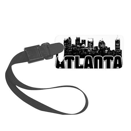 Atlanta Skyline Small Luggage Tag