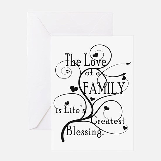 LoveOfFamily1 Greeting Card