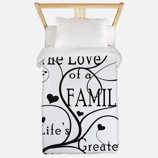 LoveOfFamily1 Twin Duvet