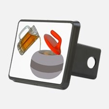 Fueled by beer cartoon roc Hitch Cover