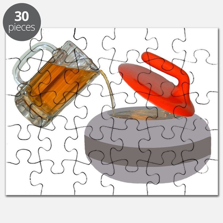 Fueled by beer cartoon rock PNG Puzzle