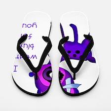 oh_dear_blue Flip Flops