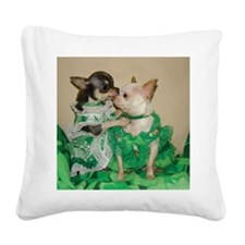 3marchtop Square Canvas Pillow