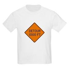 Detour 1000 FT - USA Kids T-Shirt